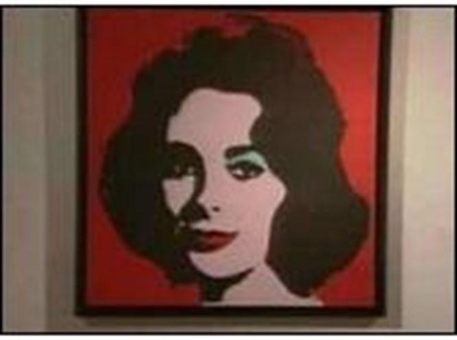 Warhol'un 'Liz'ine 12 milyon dolar